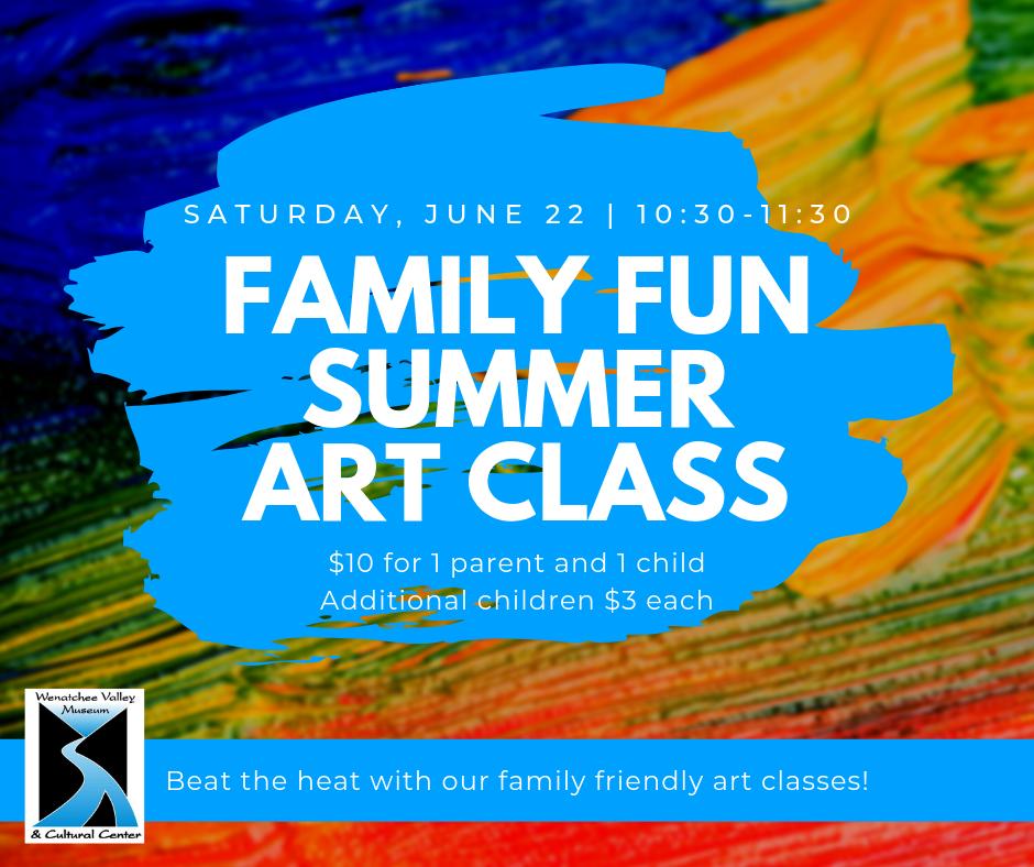 Family Fun Summer Art Class