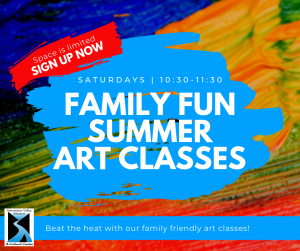 Family Fun Summer Art Classes