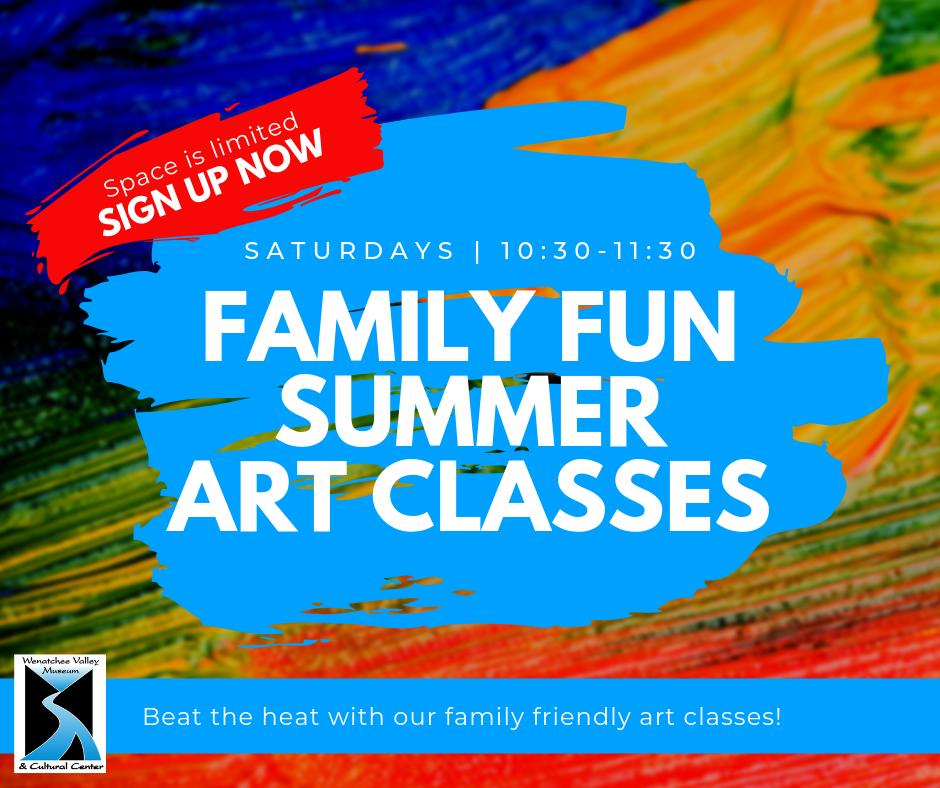 Family Fun Summer Art Classes