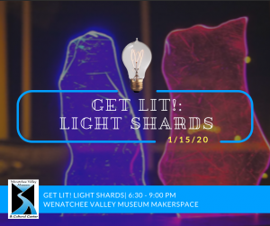 Join us for adults only Get Lit! MakerSpace workshop!