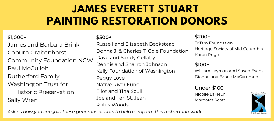 Stuart Painting Restoration Donors