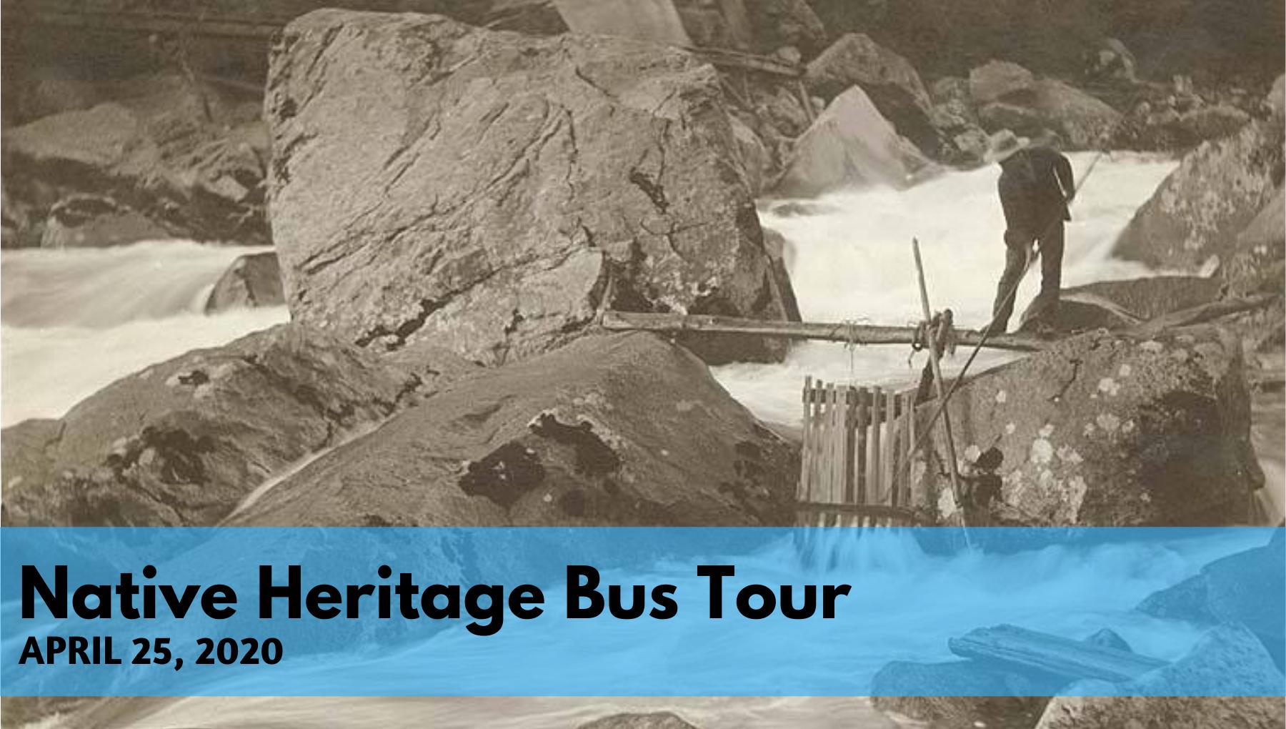 Native Heritage Bus Tour April 25