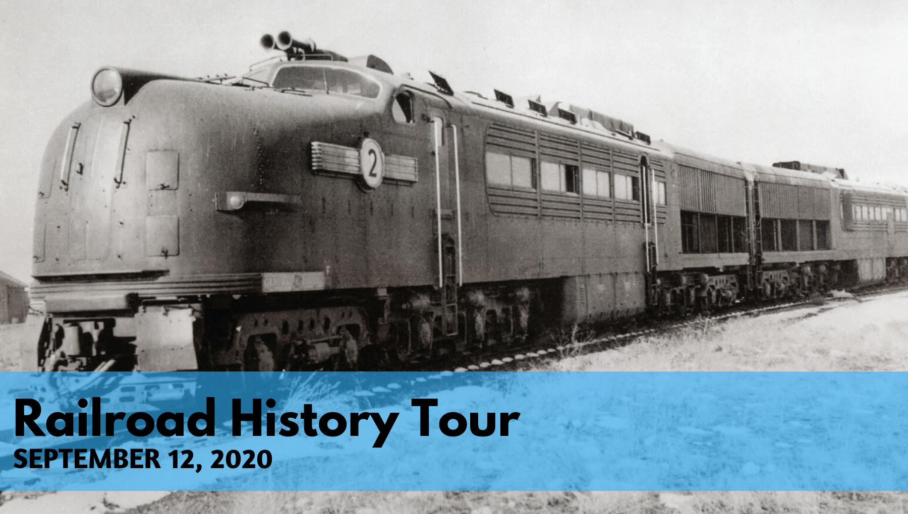 Railroad History Tour September 12