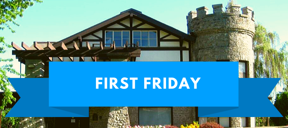 Join us at the Wells House on First Friday