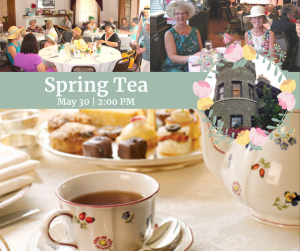 Spring Tea at the Wells House