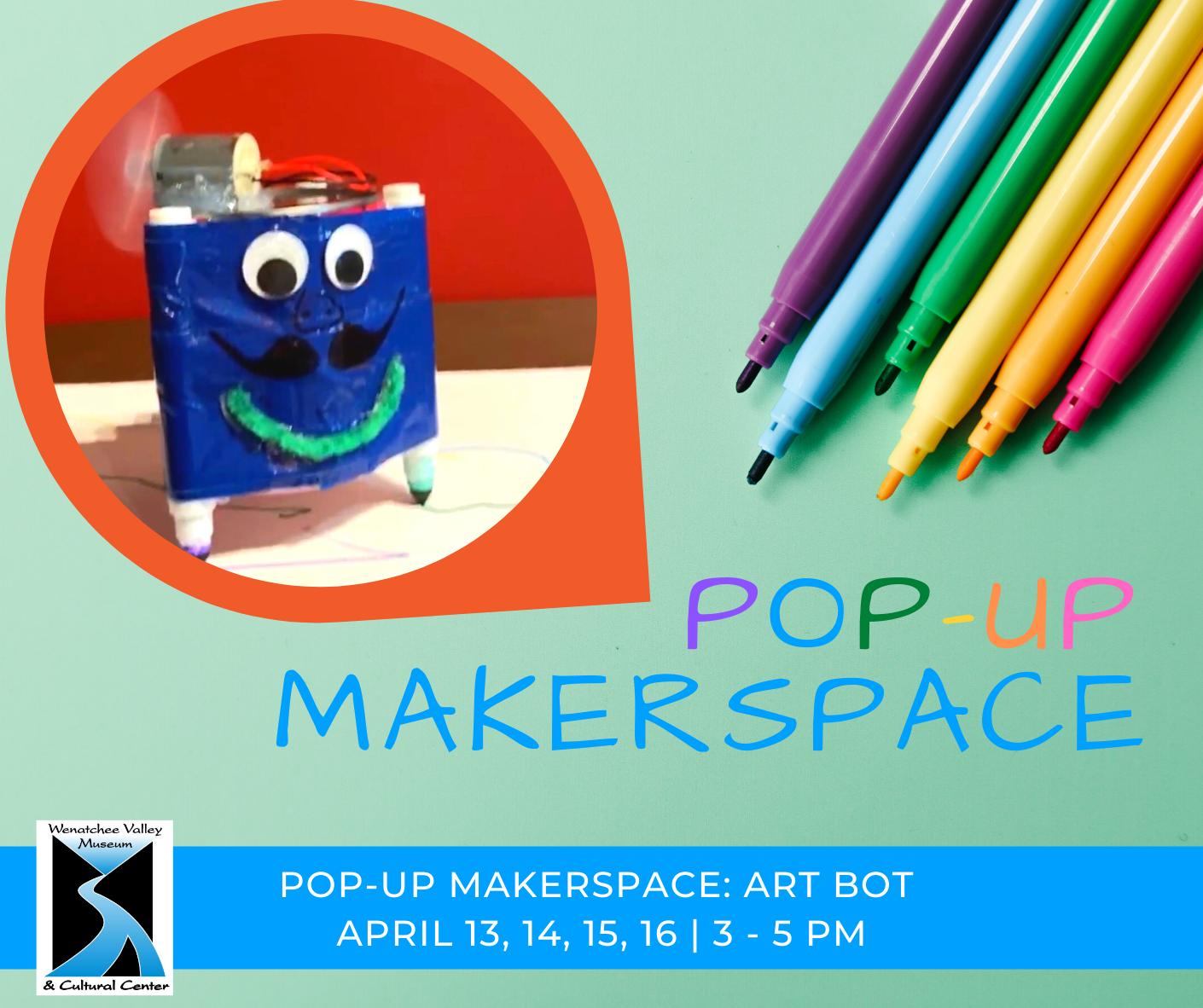 Pop-up MakerSpace: Art Bot