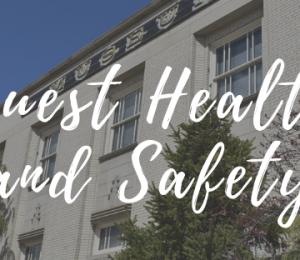 Guest Health & Safety Update