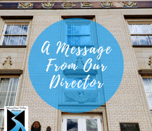Message from our Director