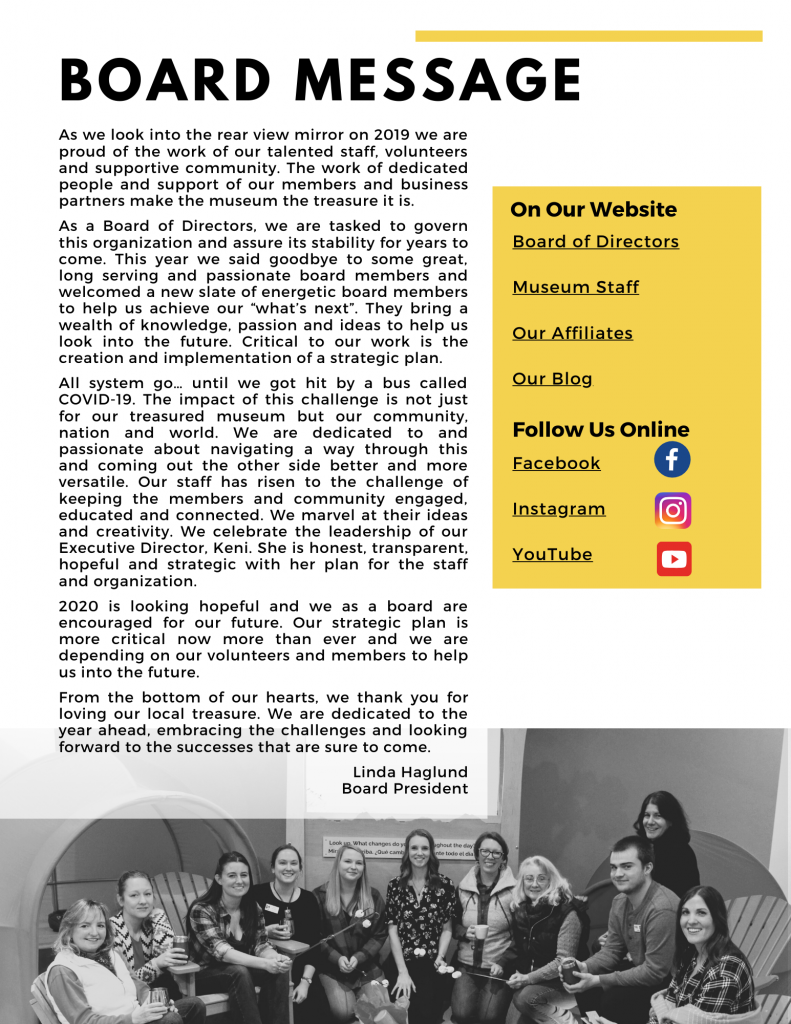2019 Annual Report page 2