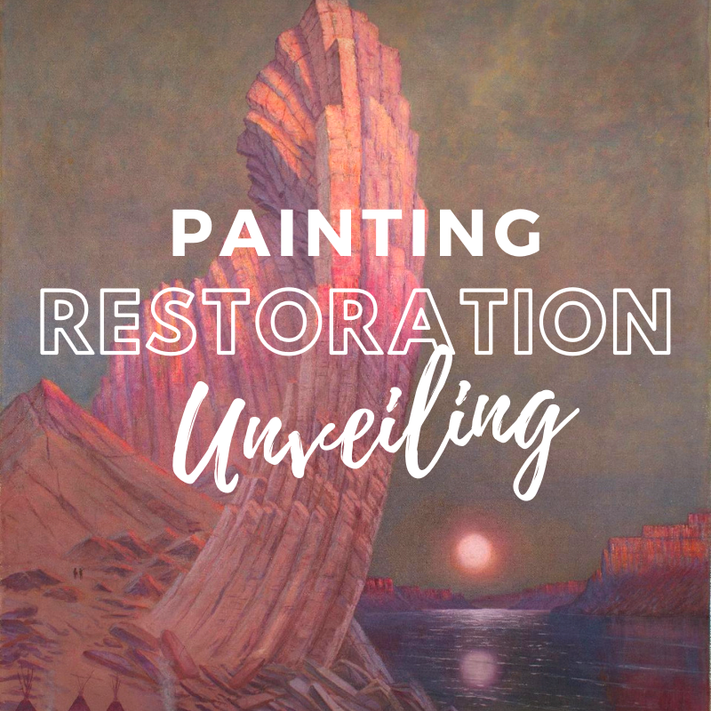 Painting Restoration Unveiling