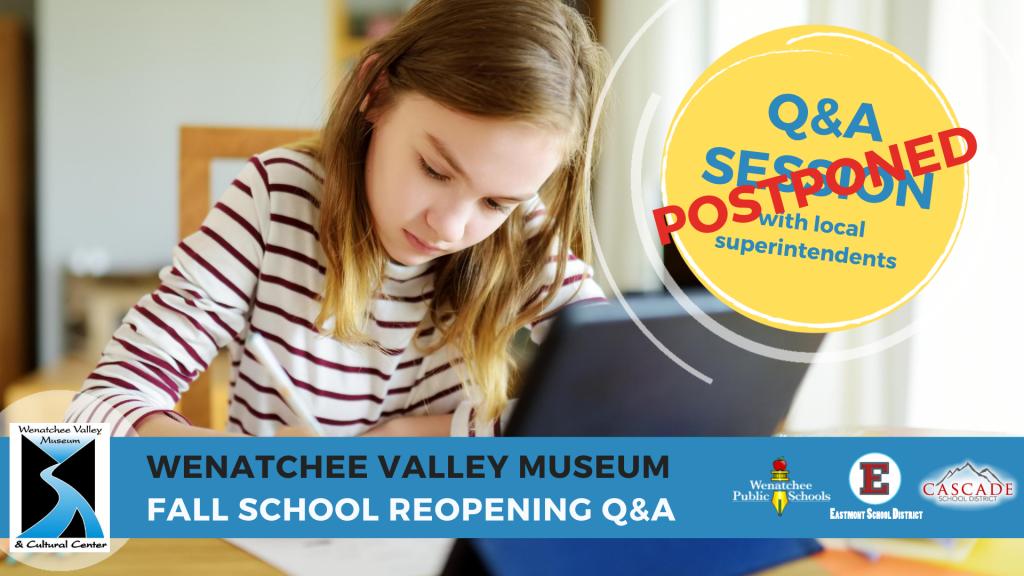 Q&A Session Postponed