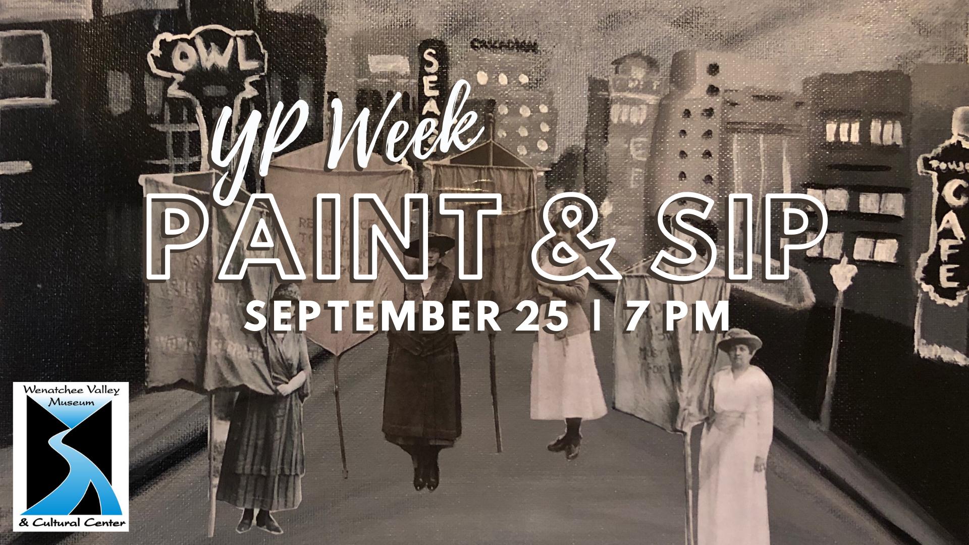 YP Week Paint & Sip