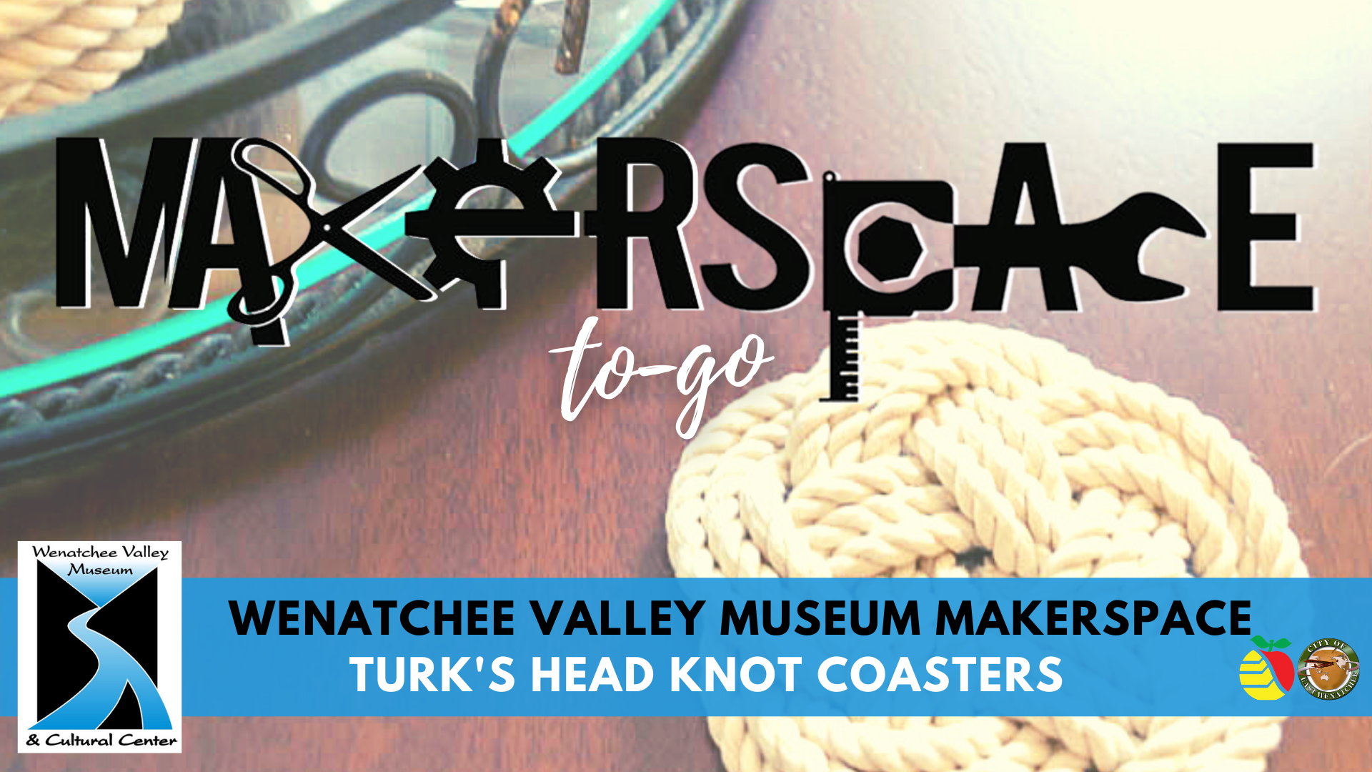 MakerSpace to-go: Turk's Head Knot Coasters