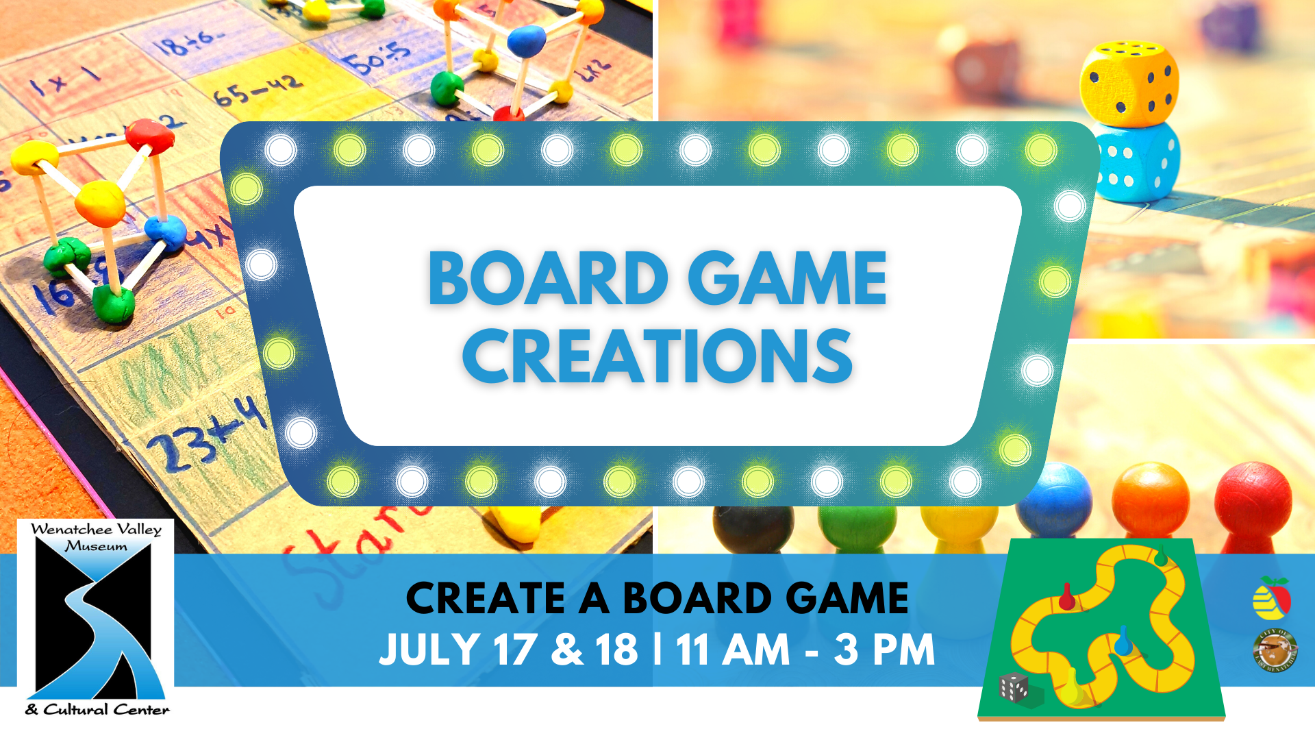 July Board Game Creations